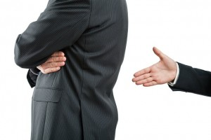 Disagreement between businessmen